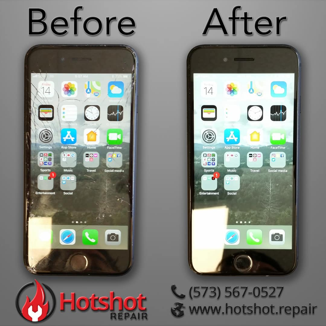 iPhone 7 Screen Repair at Hotshot Repair in Columbia MO