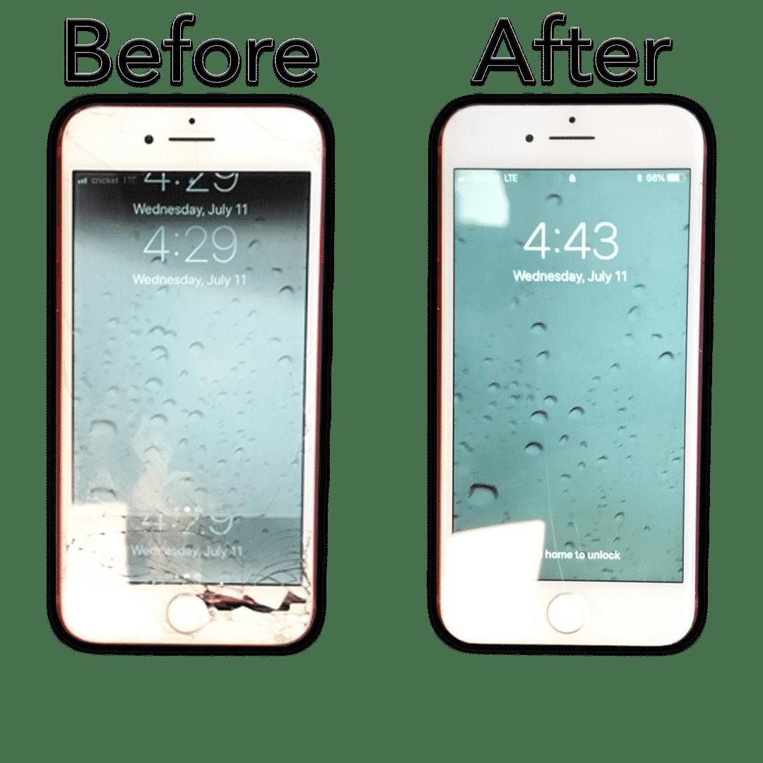 iphone repair for cracked glass at hotshot repair in columbia mo